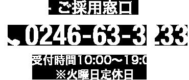 0246-63-3233